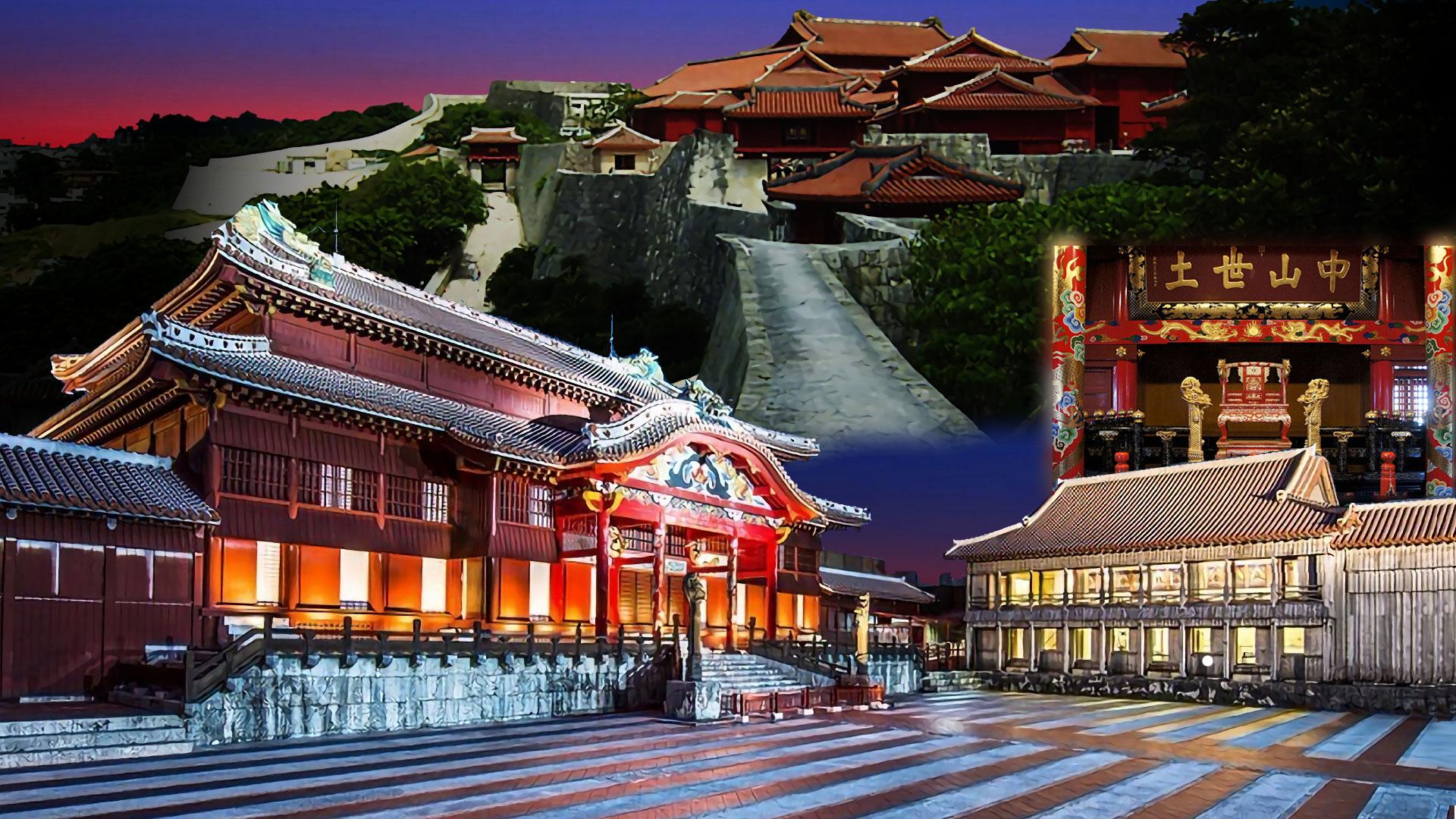 沖縄の壁紙首里城いろいろ